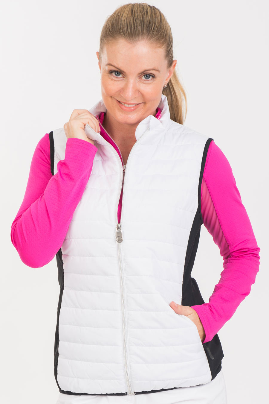 NI6210502 white quilted